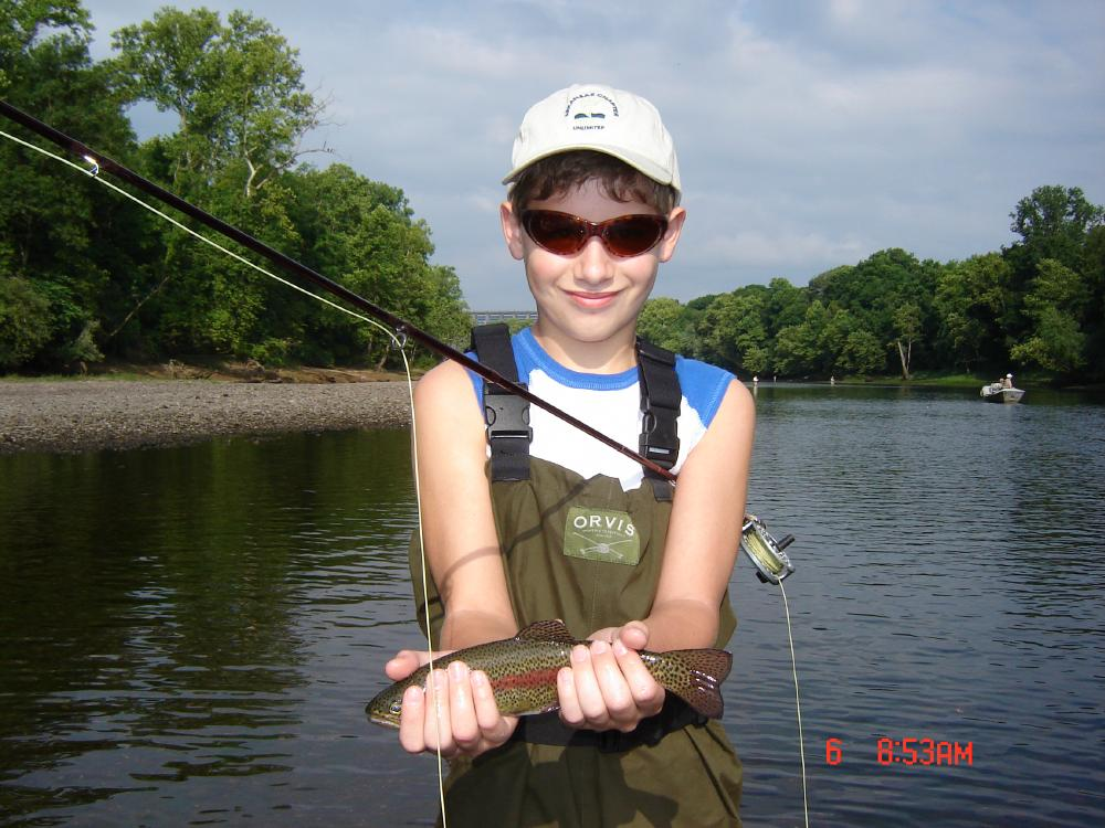 Generation pattern still good for wading branson trout for Branson trout fishing